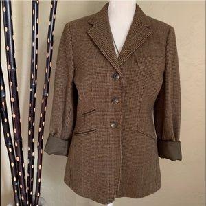 Ralph Lauren Tweed 3 button Blazer